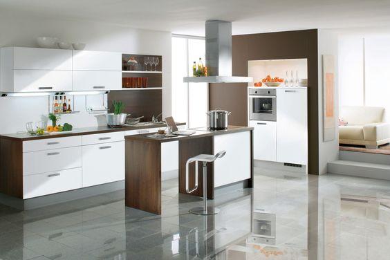 Cuisine Ikea Noir Laque : Cuisine AvivA modèle Amanda blanc polaire 4990€ (électro inclus)