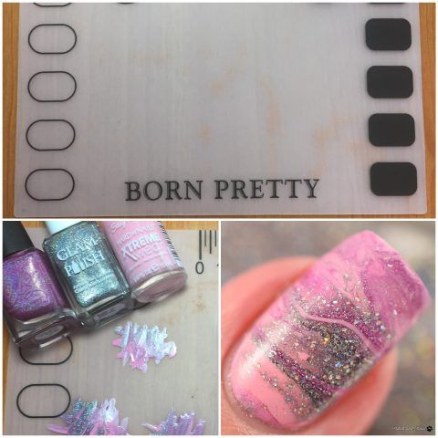 Born Pretty Store  Small Silicone Stamping Art Mat
