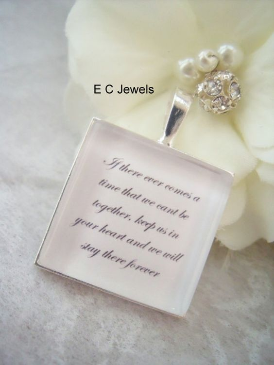 Memorial Keepsake Bouquet Charm by ElegantChicJewel on Etsy, $13.00