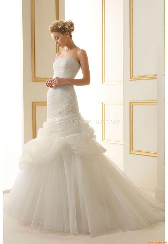 Vestidos de noiva Luna Novias 156 Tiffany 2013