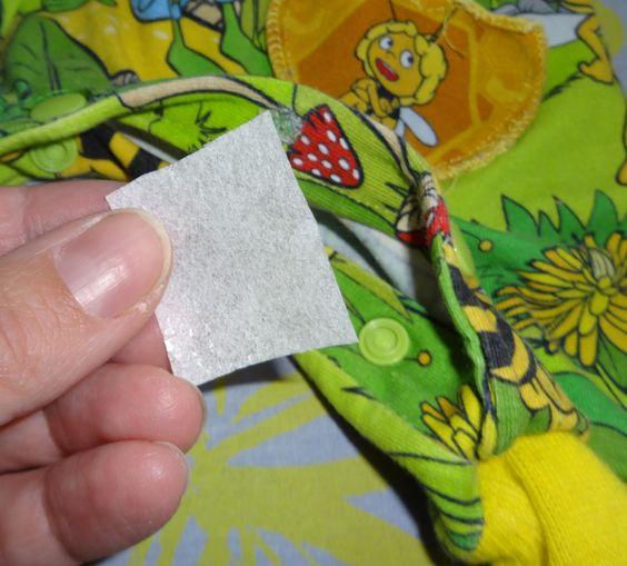 Bei häufigen Gebrauch kann es durchaus passieren, dass mal ein Druckknopf oder Snap aus dem Stoff herausgerissen wird.  Besonders  gef...