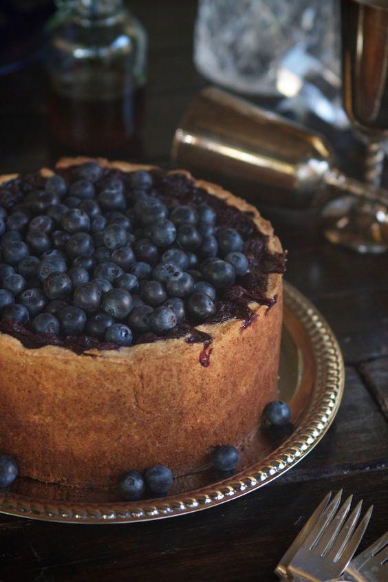 Blueberry Tall Pie