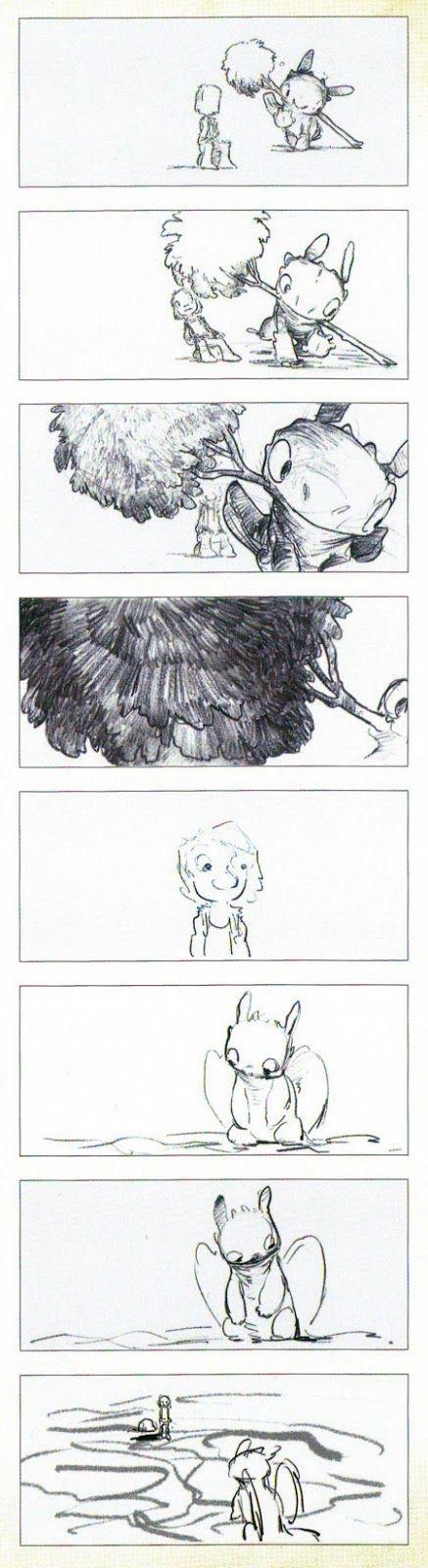 Art by Chris Sanders* u2022 Blog\/Website (wwwchrissandersart - website storyboard