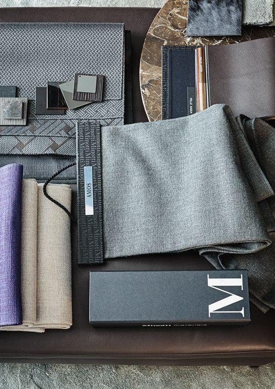 interior design fabrics - Mood board interior, Mood boards and exture on Pinterest