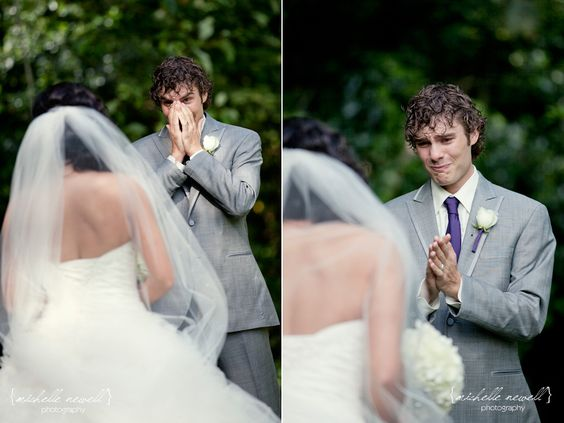 Holy shit, this guy's first look face made me instantly tear up. Damn.  {Me too!}