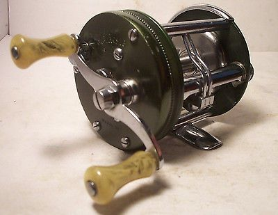 Bass vintage and fishing reels on pinterest for Bass fishing spinning reels