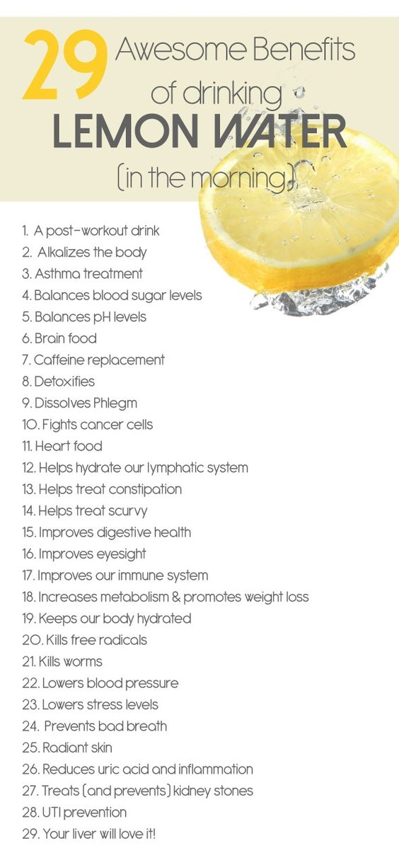 Lemon water benefits 39327
