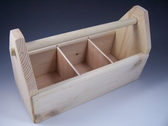 wooden toolbox (this one from etsy seller birchleafdesigns)
