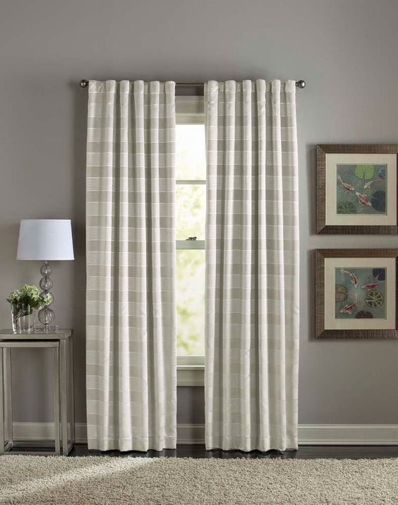 Curtain Panels Sheer Curtain Panels And Linen Curtains On Pinterest