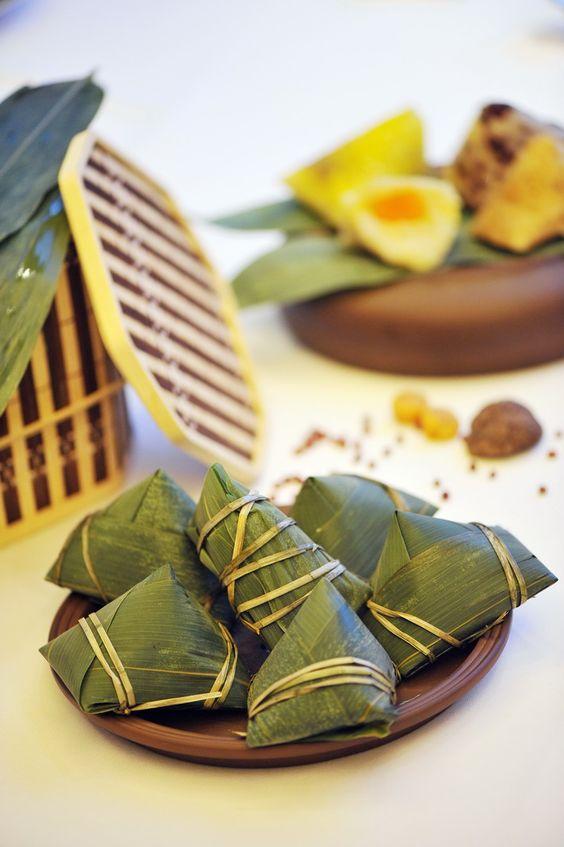 Zongzi - Chinese sticky rice dumplings