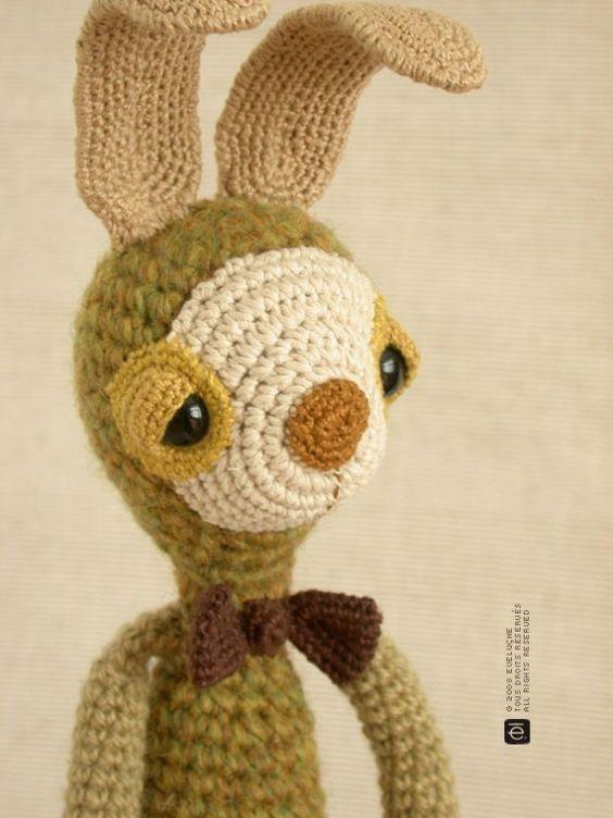 Amigurumi Bunny Ears : The bunny with the flexible ears #amigurumi Amigurumi ...