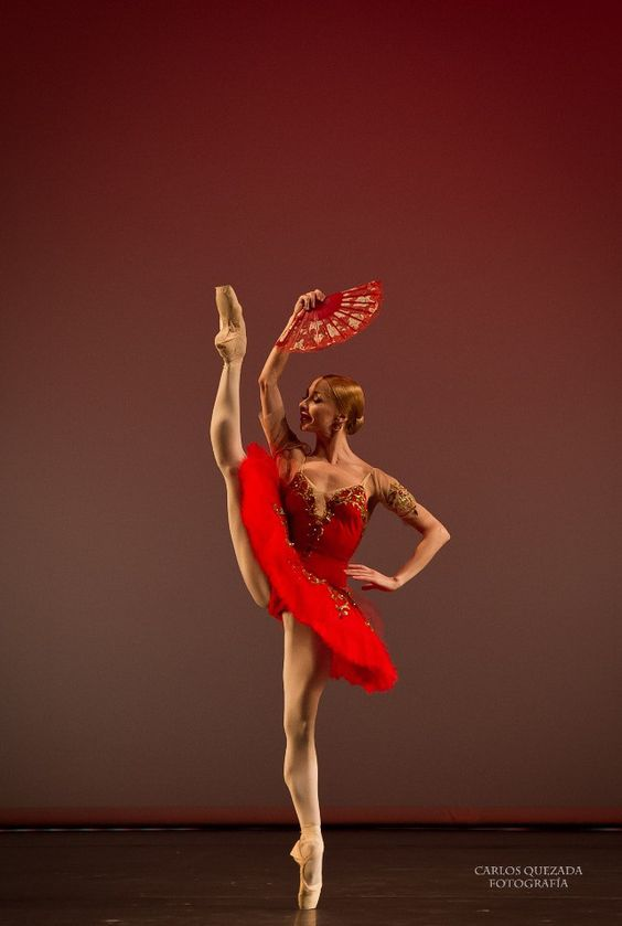 prosthetic-dance:Iana Salenko in Don Quixote© Carlos Quezada  What a perfect position!
