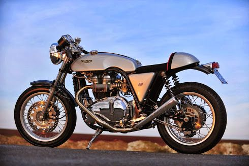 Hinkley Triton - Spirit of the Sixties Motorcycles - Inazuma Cafe Racer