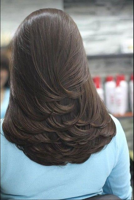 Long hairstyles, with Swoopy Long Embracing Layers
