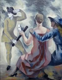 André Lhote 'Study for 'Homage to Watteau'', 1918