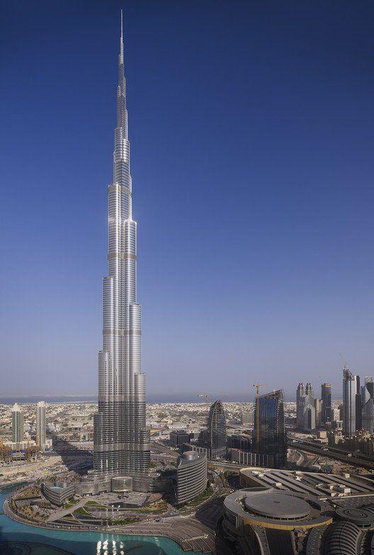 Gallery Of Burj Khalifa Som 21 Burj Khalifa Building Urban Fabric