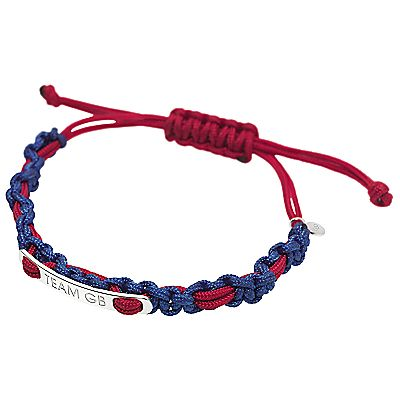 Buy Links of London 2012 Team GB Friendship Band, Blue/Red online at JohnLewis.com - John Lewis