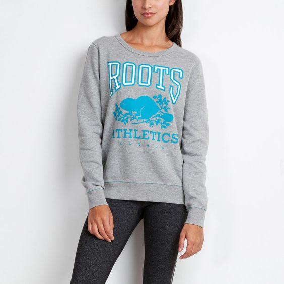 Rba Plaited Fleece Crew | Women's Sweatshirts | Roots
