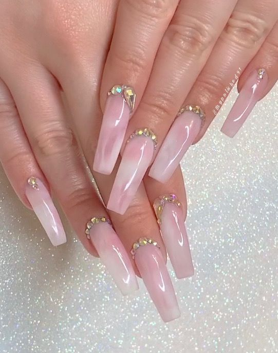 Staypolished91 Instagram In 2020 Pink Acrylic Nails Best Acrylic Nails Long Acrylic Nails