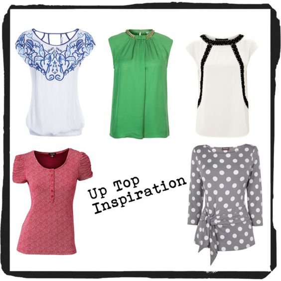 """""""Up Top Inspiration #1"""" by melina-dahms on Polyvore"""