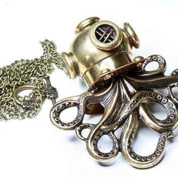 Shop Octopus Jewelry Etsy on Wanelo