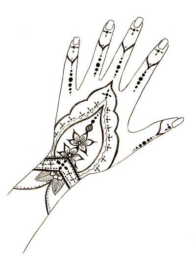 Henna Design Outline: Henna Designs , Free Henna Design Templates