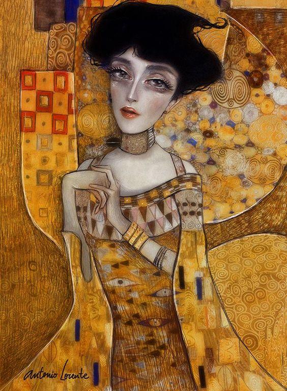 Klimt by Antonio Lorente: