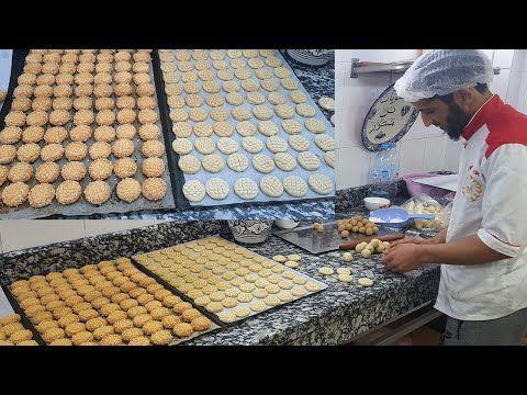 الشهدة من يد محترفين محل بيع الفطائر بن منصور سلسلة أطباق بلادي المغرب الحلقة 135 Youtube Matzo Bread