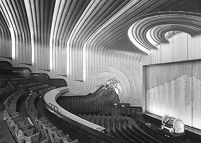 #Odeon leicester square cinema #london art deco  #interior  8 x 10  photograph ,  View more on the LINK: 	http://www.zeppy.io/product/gb/2/262253425146/