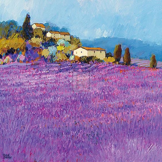 lavender painting - photo #35