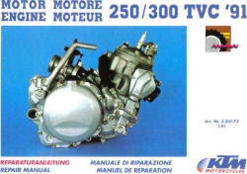 1991 1995 Ktm 250 300 Two Stroke Motorcycle Engine Service Repair Manual Ktm Repair Manuals Ktm 250