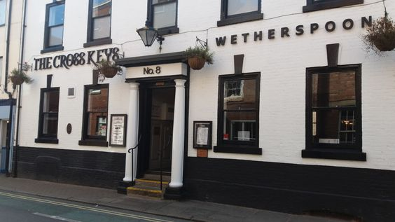 The Cross Keys in Beverley, a J. D. Wetherspoon's pub. #Beverley