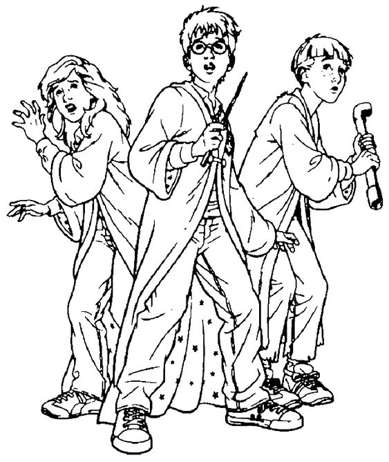 harry potter coloring pages Free Printable Harry Potter Coloring - fresh coloring pages harry potter