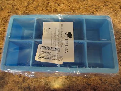 The Loving Aunt: Acuisina Silicone King Sized Ice Tray Review #acuisina #ad