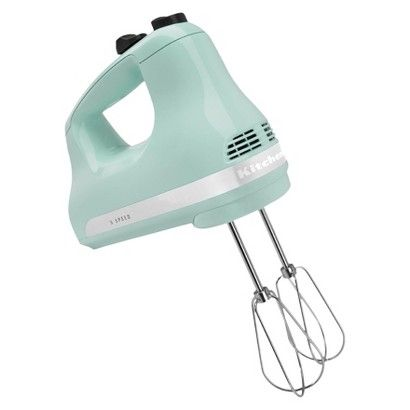 KitchenAid® 5-Speed Hand Mixer | Color: Blue Ice | target.com, BUT is also in-store. How freakin adorable is this?!