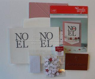 Noel Paper Pumpkin Kit