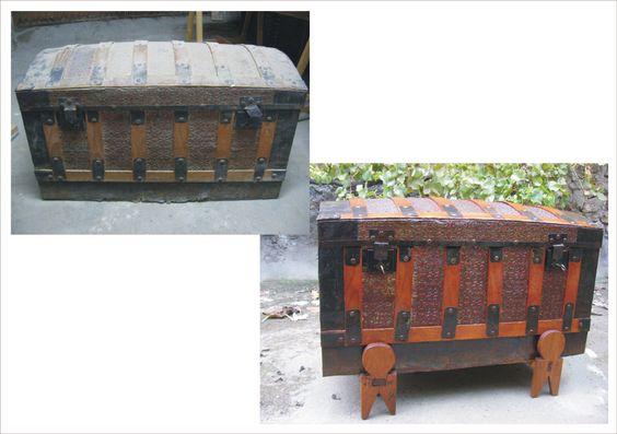 Restauraci n ba l de chapa siglo xix ba les restauraci n de muebles pinterest - Muebles de chapa ...