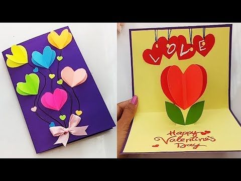 How To Make Valentine Cards Handmade Love Card Making Ideas