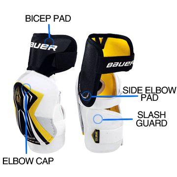 Hockey Elbow Pad Sizing Hockey Elbow Pads Hockey Hockey Equipment