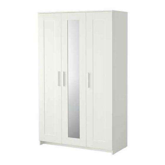 Wardrobe with 3 doors, BRIMNES