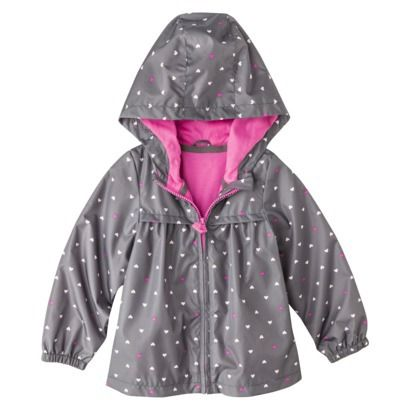 Just One You™ by Carter's® Infant Toddler Girls' Heart Windbreaker ...