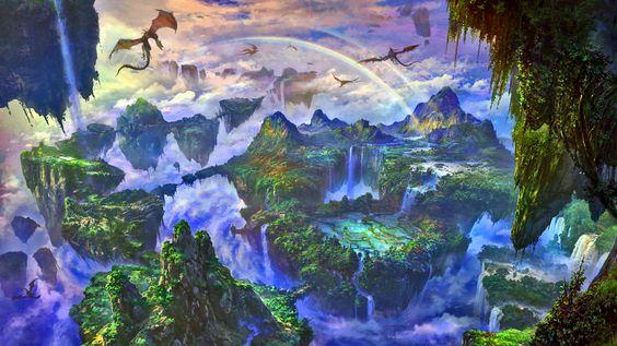 fantasy landscape - Google zoeken