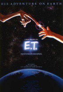ET: Classic Movie, Extra Terrestrial, Movies Tv, Steven Spielberg, Favorite Movies, Movie Poster