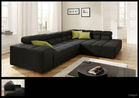 Oregon Sofa 03jpg (890×629) Sofa Pinterest - wohnzimmer couch leder