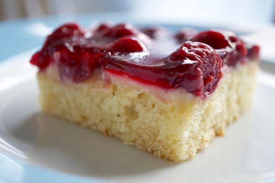 Frische Brise: Kirsch-Schmand-Kuchen