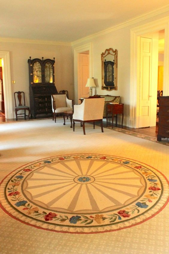 Living Room of President's home © The Gracious Posse