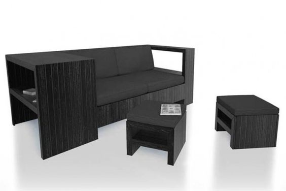 Recycled Wood Pallet Furniture You Can Keep Indoors January 11, 2012