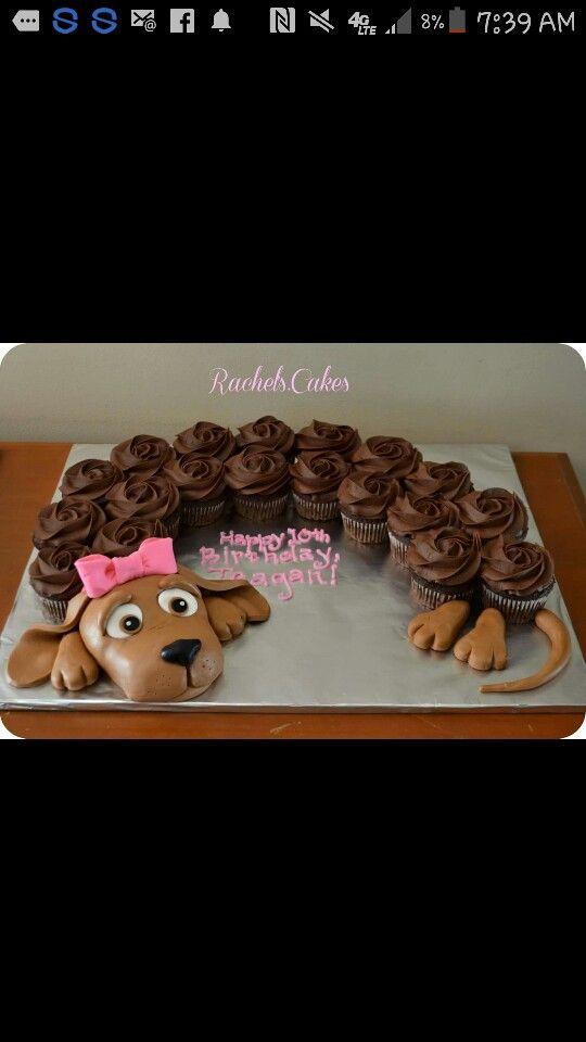 Weanie cupcakes