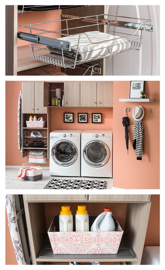 Laundry Rooms Laundry And Organizations On Pinterest