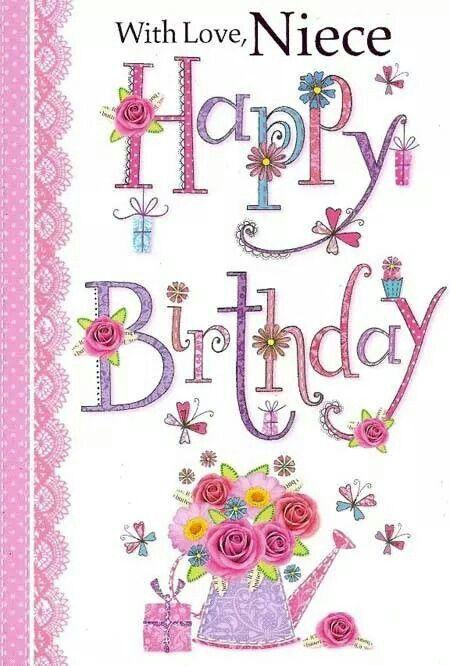 Happy Birthday Niece Images For Fb ~ Happy birthday niece pinterest